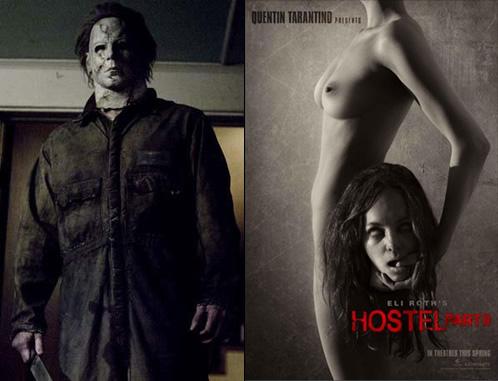 El nuevo Michael Myers y el nuevo póster de Hostel II